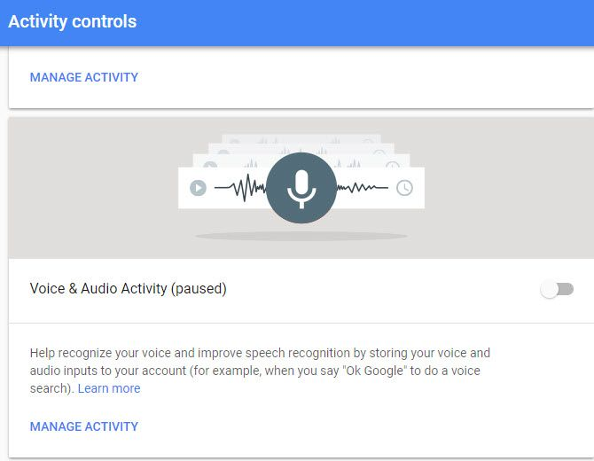 stop google listening recording and spying