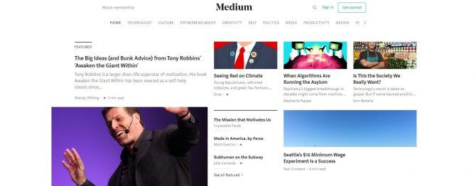 Medium - How do I start a blog