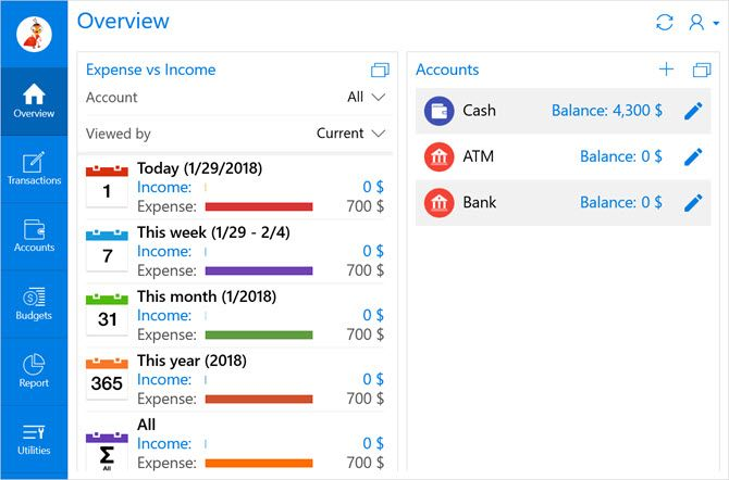 money management apps for windows