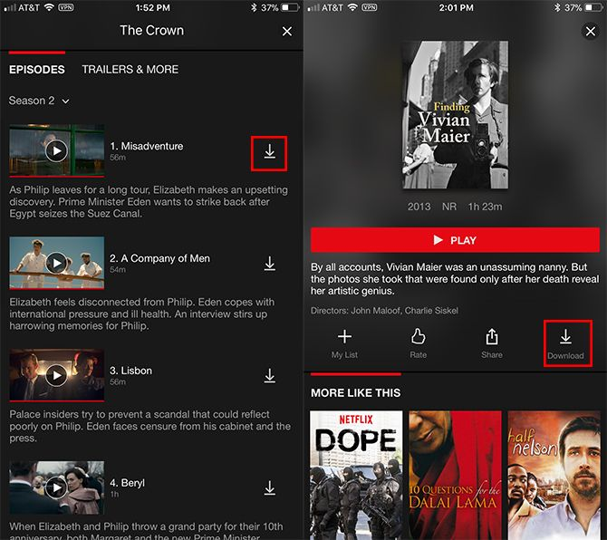 How to Download Movies and TV Shows on Netflix Netflix Downloads 1