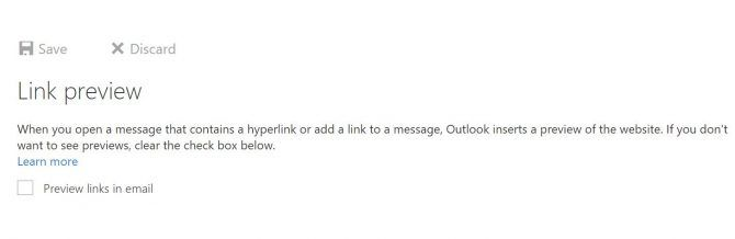How to Disable Outlook.com's Link Preview Feature Outlook Link Preview e1517240293766