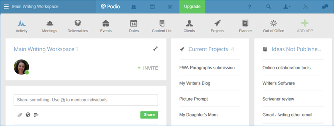 Podio Online Project Management Tool