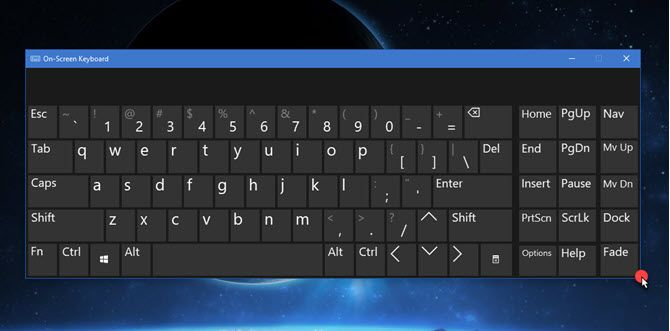 How to Resize the On-Screen Keyboard in Windows 10 Resize On Screen Keyboard Windows