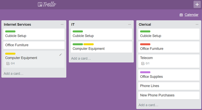 Trello Online Project Management Tool