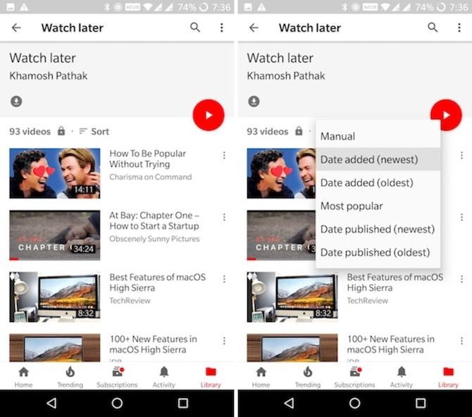 YouTube Android Tips and Tricks 3