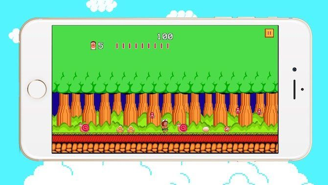 adventure island - free retro games for smartphones