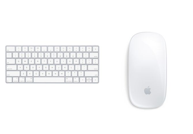 Apple Wireless Keyboard Magic Mouse 2