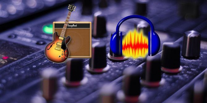GarageBand vs  Audacity: The Best Music Production Software Compared