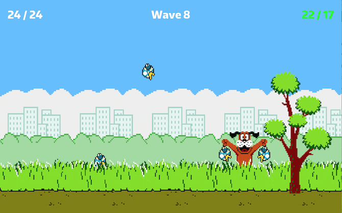 bird hunt - free retro games for smartphones