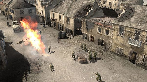 Company of Heroes WW2 RTS strategy game