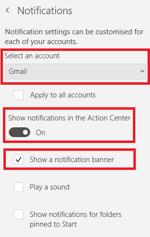 How to Turn Off Mail Notifications in Windows 10 email notifications windows 10