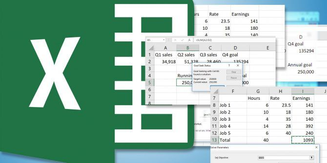How to Use Excel's Goal Seek and Solver to Solve for Unknown Variables