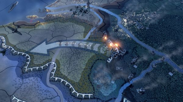 Hearts of Iron IV WW2 grand strategy game
