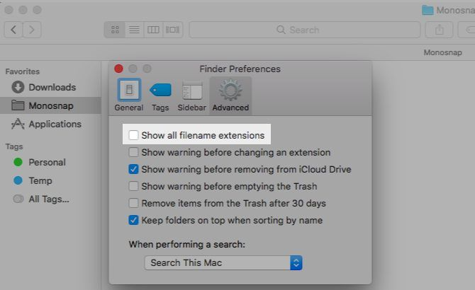 hide-file-extensions-mac