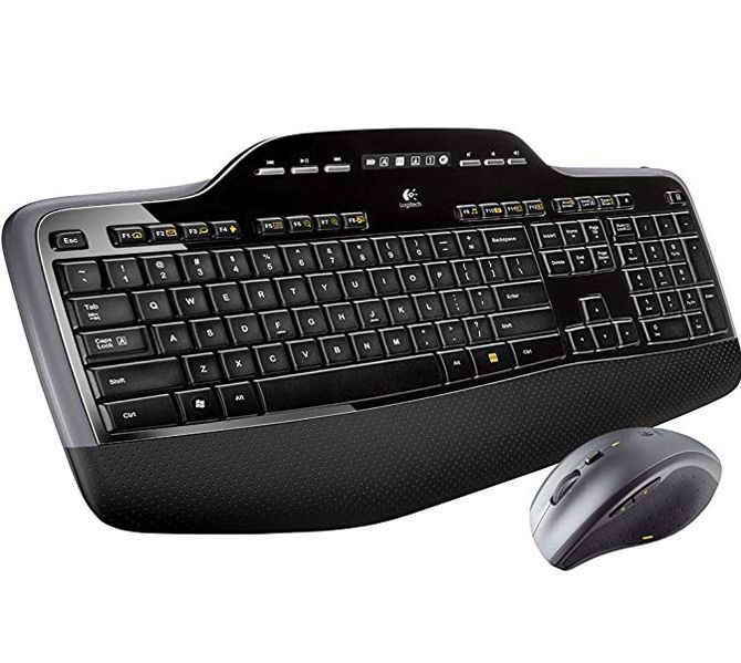 928bd267d21 One of the best Logitech wireless keyboard and mouse combo options is the  Logitech MK710. Instead of connecting via Bluetooth, it uses the company's  ...
