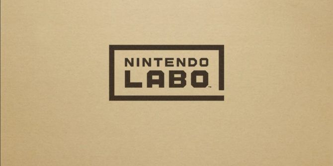 Nintendo Labo Is Cardboard LEGO for Your Switch