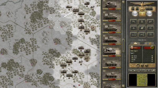 Panzer Corps WWII strategy game