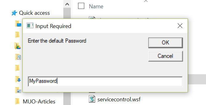 5 Useful VB Windows Scripts to Automate Your Computer Use password prompt