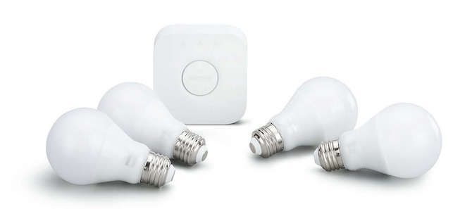 philips hue starter kit - bridge and bulbs