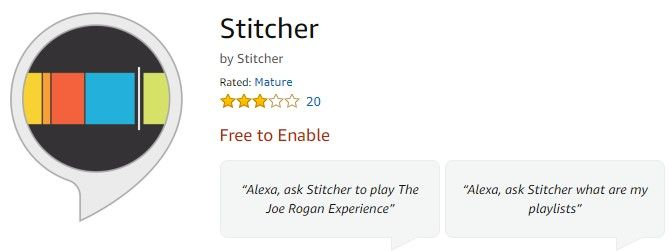 stitcher tips for listening to podcasts