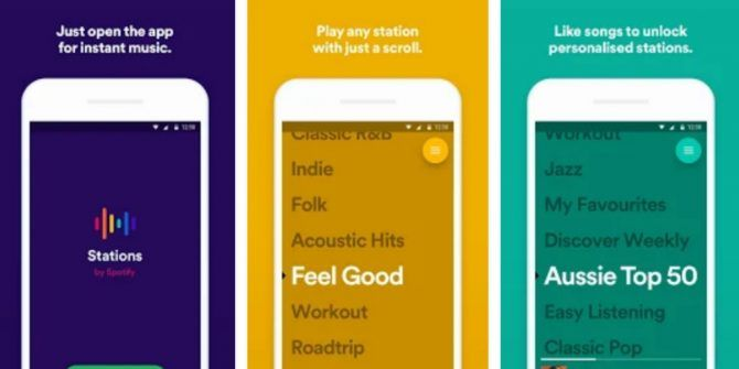 Spotify Is Testing a Free New App Called Stations
