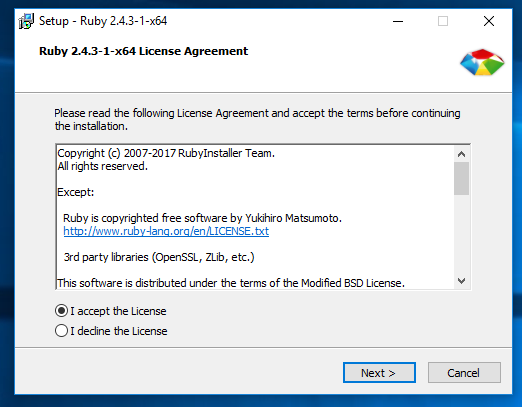 static site generator ruby windows install1