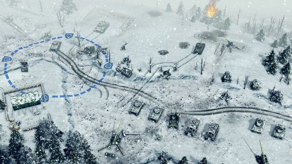 Sudden Strike 4 WW2 strategy game on PS4