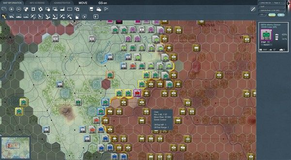 War in the East WW2 wargame