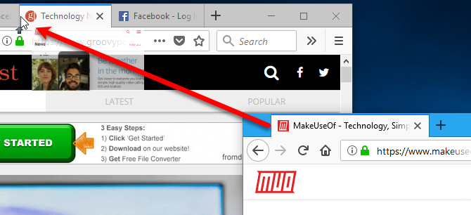 15 Power User Tips for Tabs in Firefox 57 Quantum 11 Drag tab to existing window