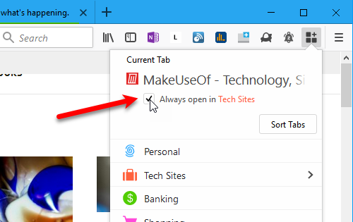 15 Power User Tips for Tabs in Firefox 57 Quantum 37 Always open in check box