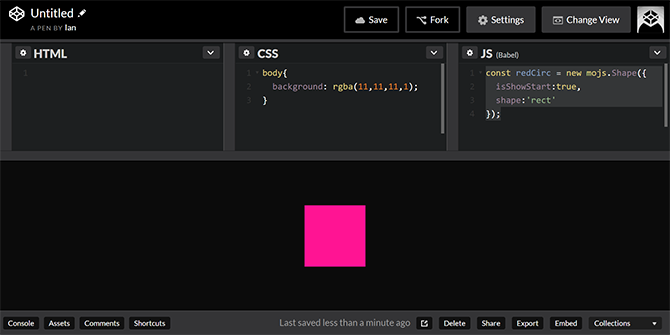 beautiful web animations with mo.js