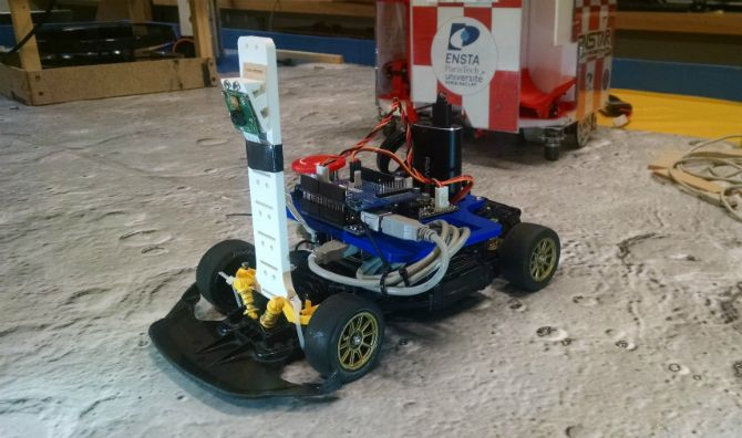 AI racer raspberry pi project