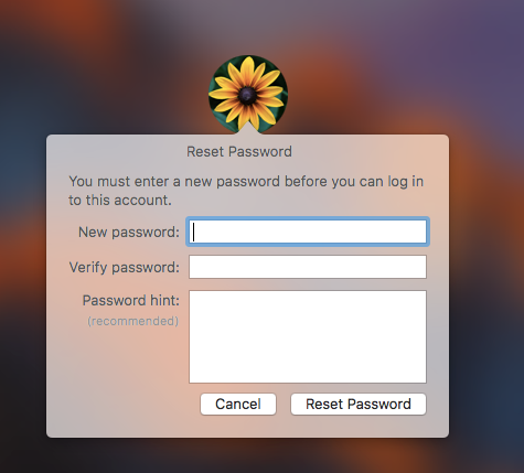 4 Easy Ways to Reset Your Lost Mac Password Apple ID 2