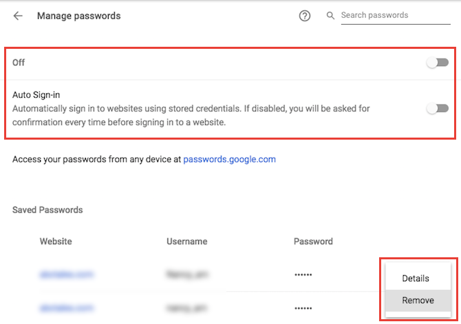 Beware: Stop Using Autofill in Your Password Manager Chrome Autofill Settings