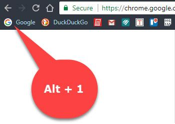 How to Launch Your Chrome Bookmarks With Keyboard Shortcuts Chrome Bookmark Bar Shortcut Extension