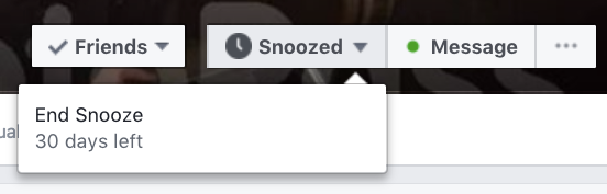 How to Stop Facebook Friends or Pages From Taking Over Your Feed FB Snooze 2