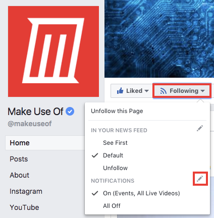 How to Enable Live Notifications for Facebook and Instagram