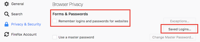 Beware: Stop Using Autofill in Your Password Manager Firefox Autofill Settings