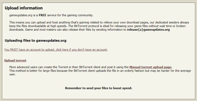 A Legal Torrent Site