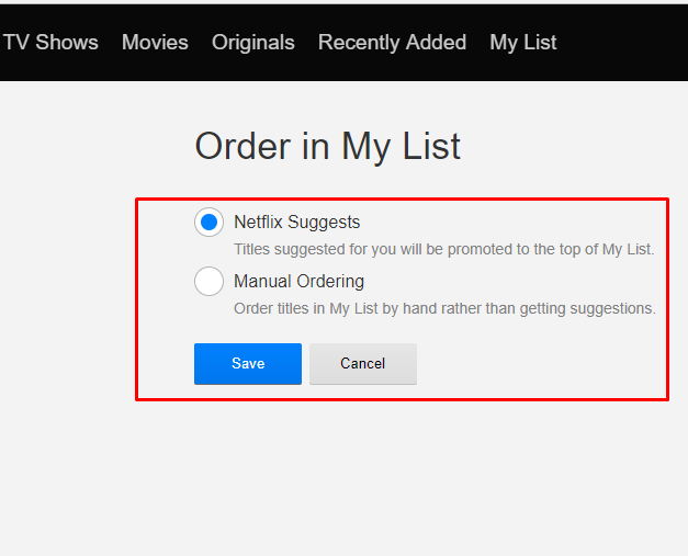 tips managing netflix content and library