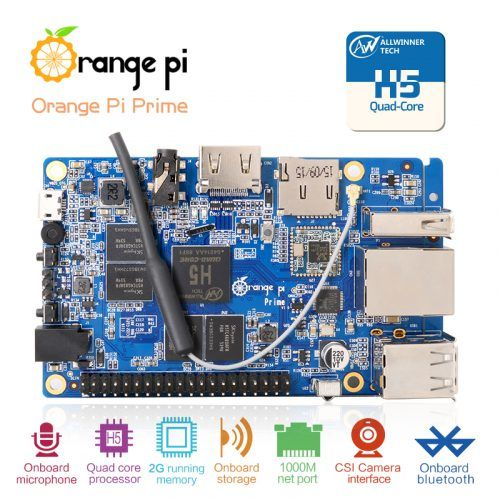 Orange Pi Prime - Best Single-Board Computers for Installing Chrome OS and Android