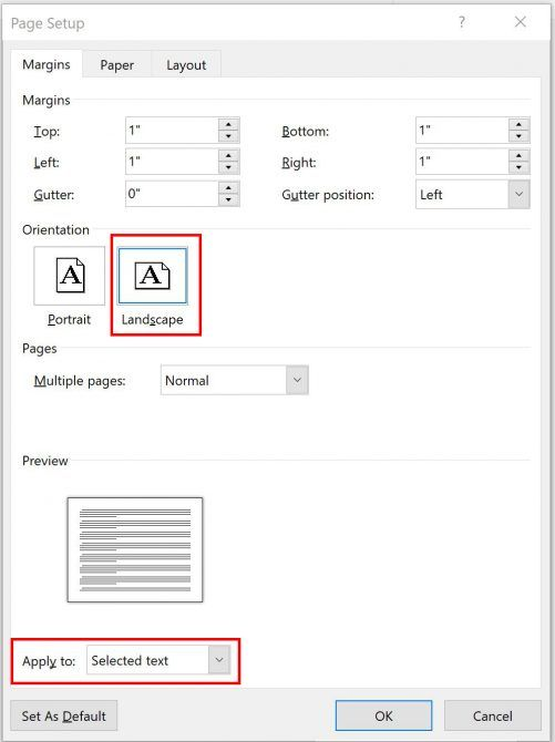3 Microsoft Word Formatting Tricks You Should Really Know Page Orientation 2 e1518458170628
