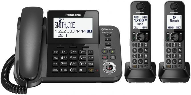 Panasonic KX-TGF382M - Best Cordless Phones for Killing Static and Interference