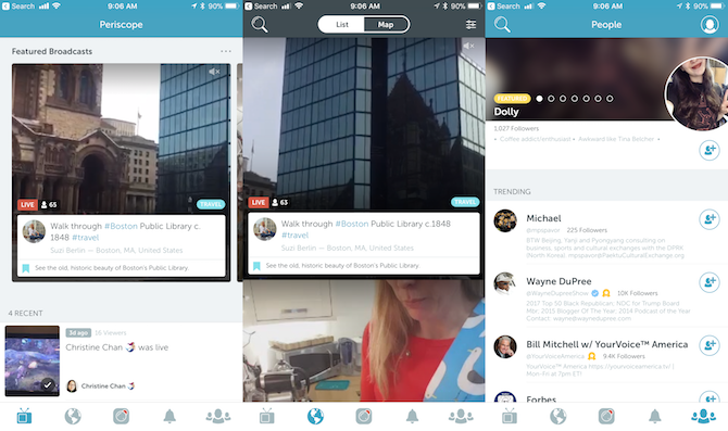 periscope vs facebook live for streaming on social media
