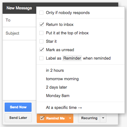 gmail tools - right inbox