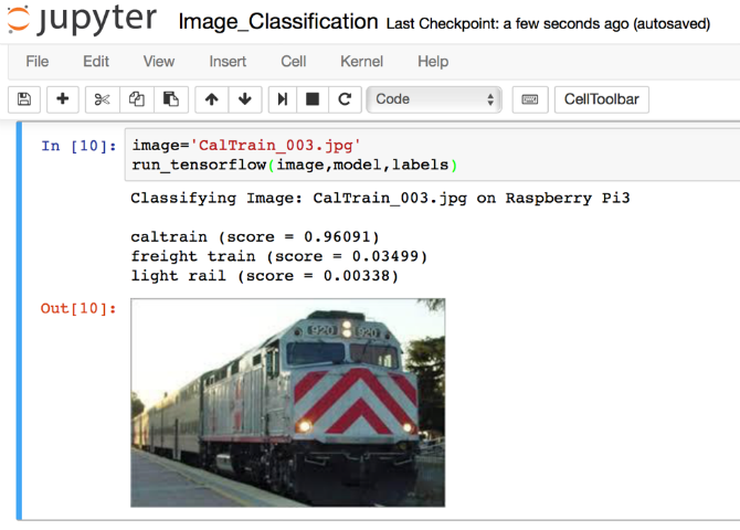 Caltrain raspberry pi project