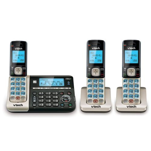 VTech DS6751-3 - Best Cordless Phones for Killing Static and Interference