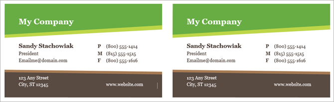 How to make free business cards in microsoft word with templates business card templates microsoft word fbccfo