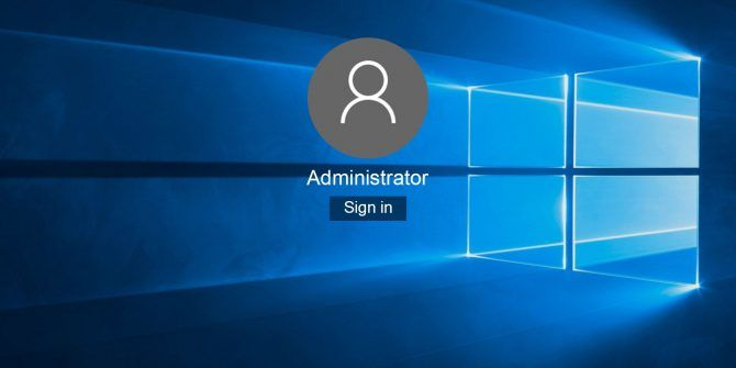 User Account Control and Administrator Rights on Windows 10