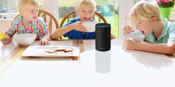 graphic about Printable List of Alexa Commands titled Ditch the Babysitter: 15 Amazon Alexa Competencies for Little ones